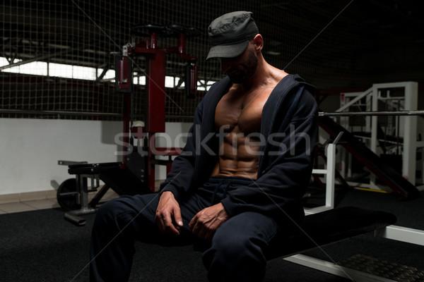 強い 肖像 フィット 成熟した男 健康 クラブ ストックフォト © Jasminko