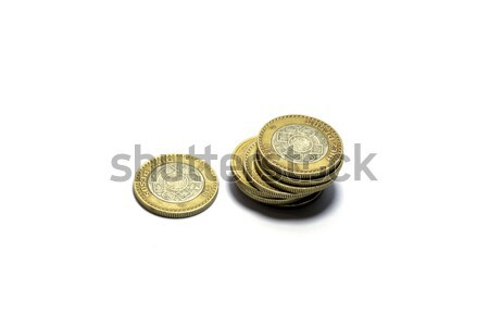 Mexican currency Coins  Stock photo © javiercorrea15