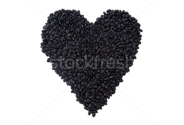 Black Beans: Heart Healthy Nutrient Stock photo © javiercorrea15
