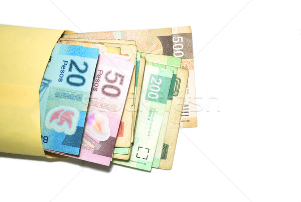 Mexican Pesos Stock photo © javiercorrea15