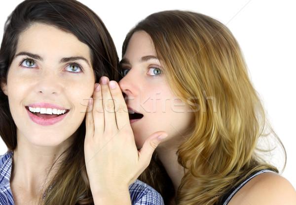 Telling a Secret Stock photo © javiercorrea15