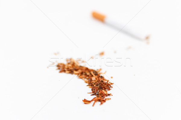 Tobacco spilled Stock photo © javiercorrea15
