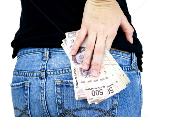 Money in my pocket! Stock photo © javiercorrea15