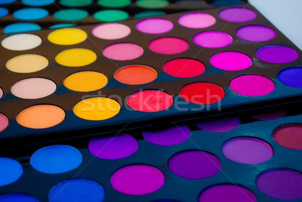 Eye Shadow Palette Stock photo © javiercorrea15