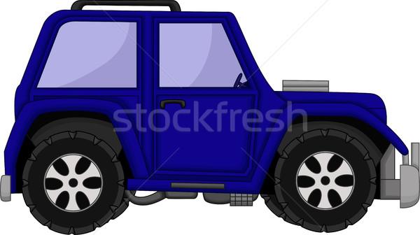Cute автомобилей Cartoon дизайна весело игрушку Сток-фото © jawa123