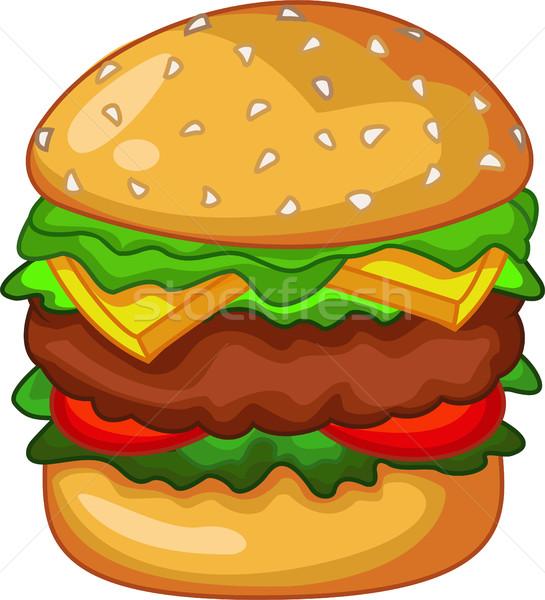 big burger for your design Stock photo © jawa123