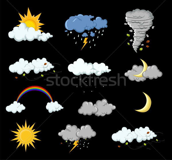 weather collection for you design Stock photo © jawa123