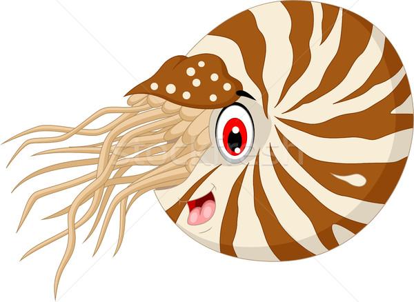Nautilus Cartoon for you design Stock photo © jawa123