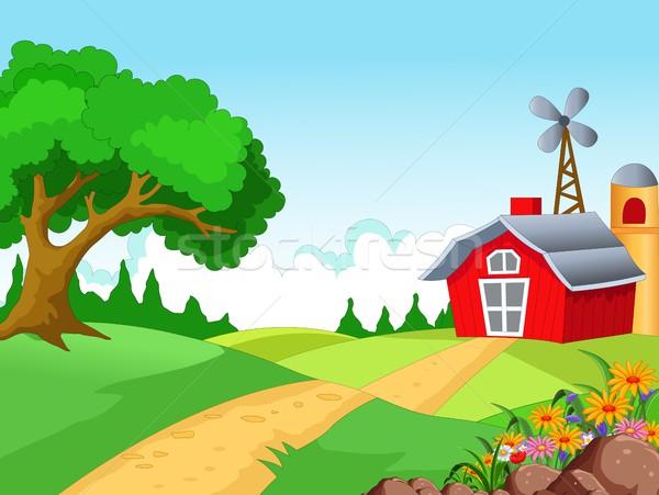 Farm background for you design Stock photo © jawa123