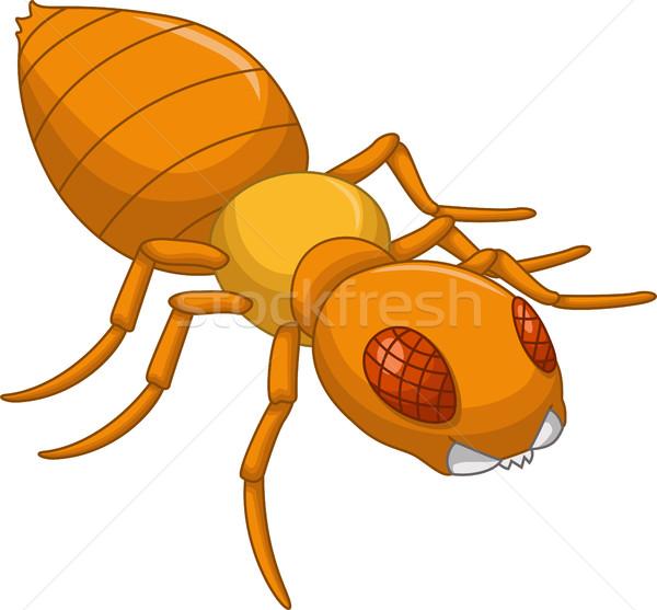 Termite cartoon for you design Stock photo © jawa123