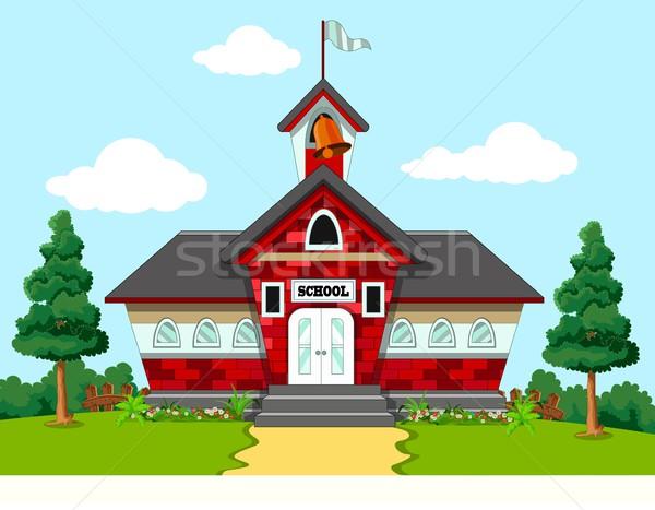 School Building Stock photo © jawa123