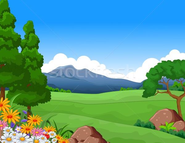 beautiful summer landscape for you design Stock photo © jawa123