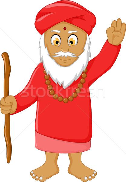 religious leader cartoon for you design Stock photo © jawa123