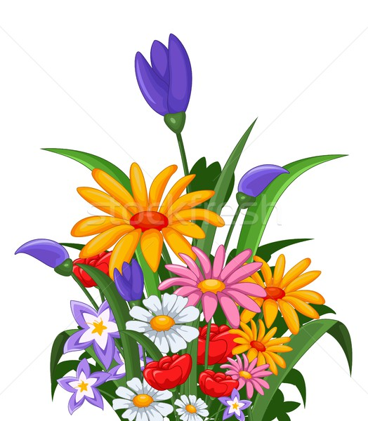 flowers for you design Stock photo © jawa123