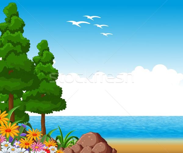 summer landscape for you design Stock photo © jawa123