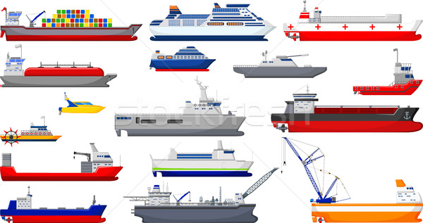 collection of ship cartoon for you design Stock photo © jawa123