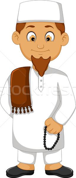 Cartoon religiosas líder sonrisa cara hombre Foto stock © jawa123