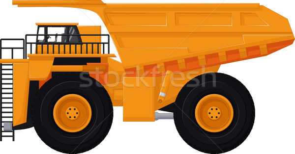 dump truck cartoon for you design Stock photo © jawa123