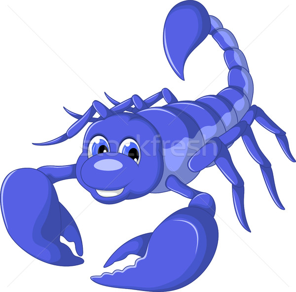scorpion cartoon for you design Stock photo © jawa123