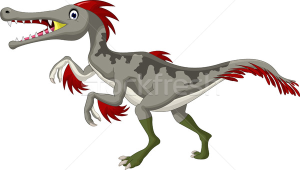 Dinosaur Triceratops cartoon Stock photo © jawa123