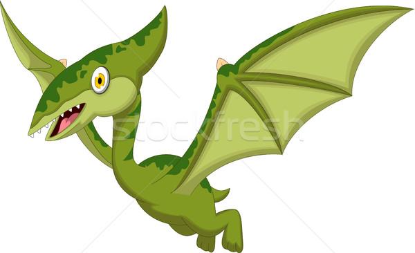 pterodactyl cartoon for you design Stock photo © jawa123