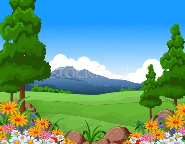 beautiful summer landscape Stock photo © jawa123