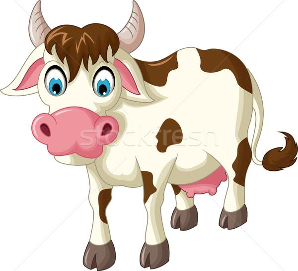 cow cartoon for you design Stock photo © jawa123