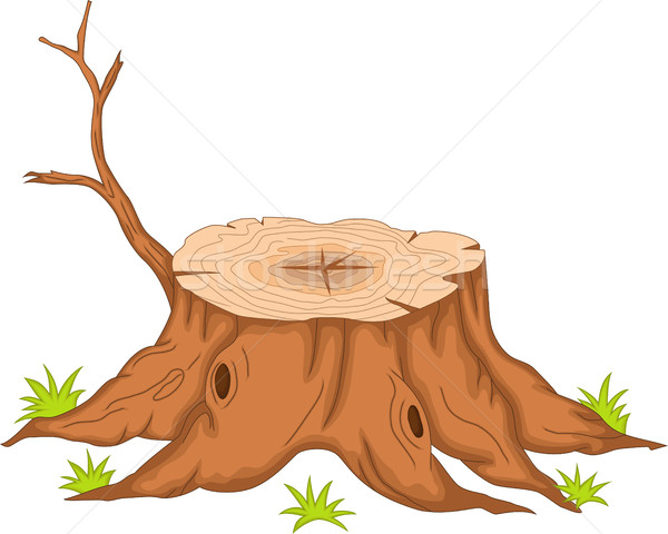 root of tree cartoon Stock photo © jawa123