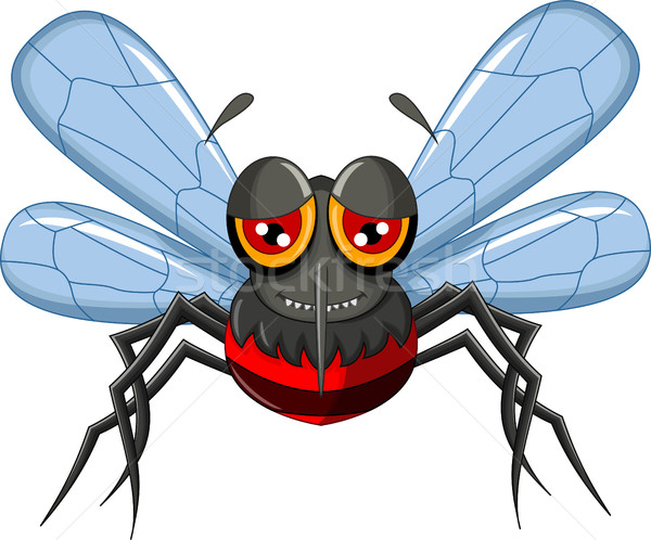 cartoon mosquito Stock photo © jawa123