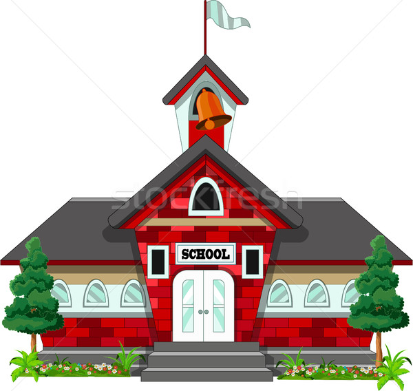 school building design Stock photo © jawa123