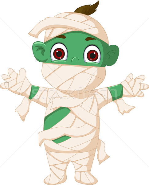 Cartoon mummy standing Stock photo © jawa123