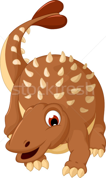 Dinoszaurusz rajz test idő vicces fiatal Stock fotó © jawa123