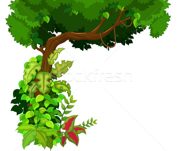 дерево небе лес природы дизайна деревья Сток-фото © jawa123