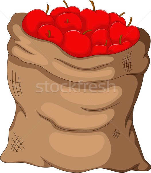 collection apple in the sack Stock photo © jawa123