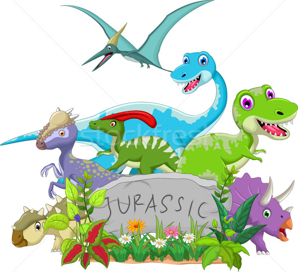funny jurassic animal Stock photo © jawa123