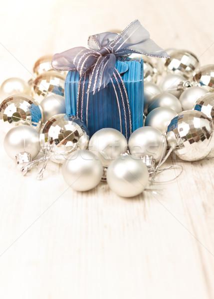 перспективы мнение синий серебро шкатулке Сток-фото © jaycriss
