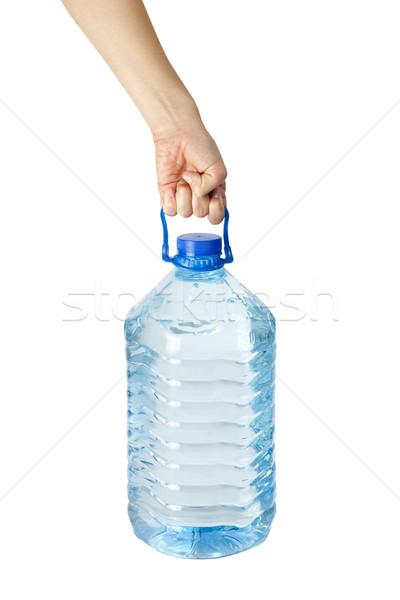 фляга стороны женщину воды здоровья Сток-фото © jaycriss
