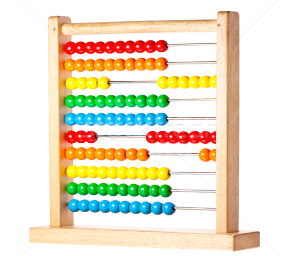 Colorful childrens abacus Stock photo © jaykayl
