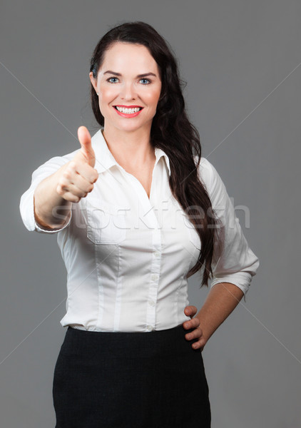 Mulher de negócios retrato bem sucedido belo negócio Foto stock © jaykayl