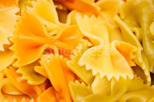 Pasta heerlijk gekookt voedsel diner Stockfoto © jaykayl