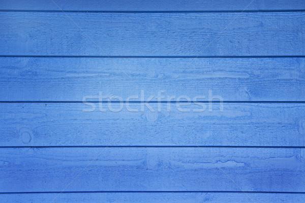 Azul parede horizontal papel de parede Foto stock © jaykayl