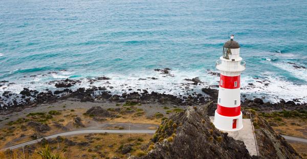 灯台 ニュージーランド パノラマ 北 島 家 ストックフォト © jaykayl