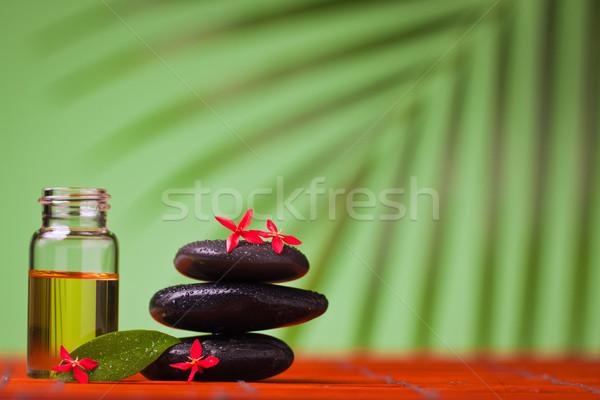 Health spa & massage still life Stock photo © jaykayl