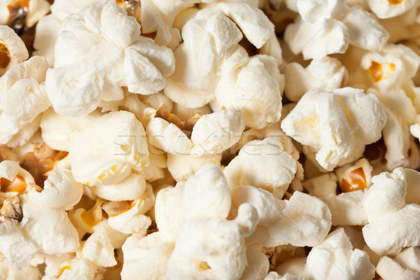 Popcorn shot żywności Zdjęcia stock © jaykayl
