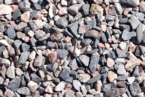 żwir kamień tekstury budowy charakter ogród Zdjęcia stock © jaykayl