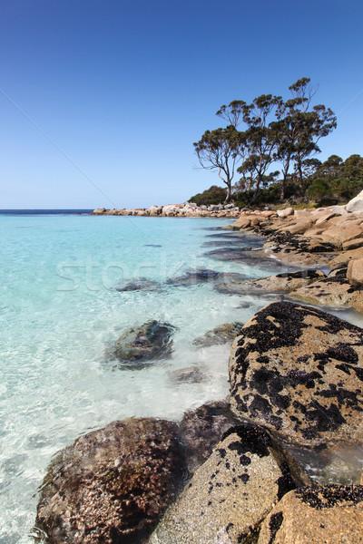 Stock photo: Binalong Bay - Tasmania