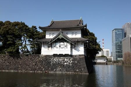 Palacio Tokio edificio alrededor Foto stock © jeayesy