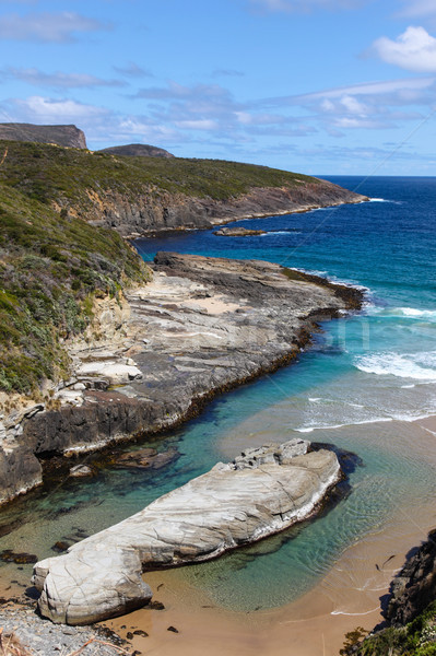 Coast Landscape near Port Arthur Tasmania Stock photo © jeayesy