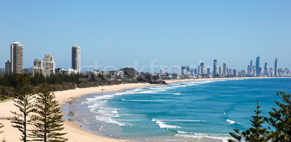 Burleigh Heads - Gold Coast Australia Stock photo © jeayesy