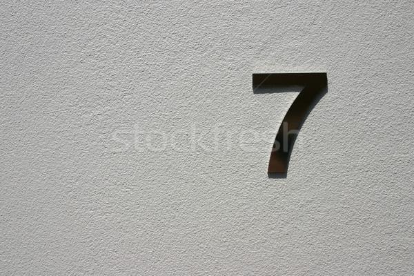 seven Stock photo © jeayesy